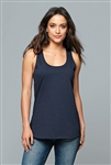 District - Women's V.I.T. ™Gathered Back Tank. DT6302