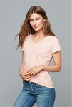 District - Women's Very Important V-neck Tee. DT6503
