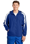 Sport-Tek - Fleece-Lined Colorblock Jacket. JST81