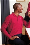 Port Authority -  Long Sleeve Core Classic Pique Polo. K100LS