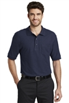 ​Port Authority - Silk Touch Polo with Pocket. K500P
