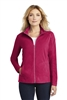 Port Authority - Ladies Microfleece Jacket. L223