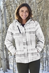 Port Authority - Ladies Brushstroke Print Insulated Jacket. L320
