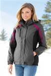 Port Authority - Ladies Colorblock 3-in-1 Jacket. L321