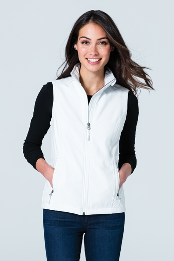 Port Authority® Ladies Core Soft Shell Vest.