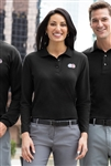 Port Authority - Ladies Long Sleeve Silk Touch Polo. L500LS