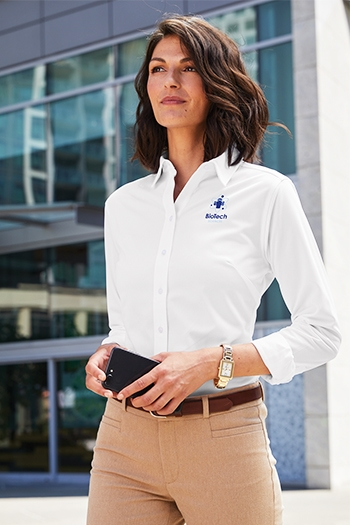 Port Authority - Ladies Dimension Knit Dress Shirt. L570