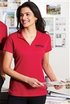 "Port Authority - Ladies Rapid Dryâ""¢ Mesh Polo. L573"