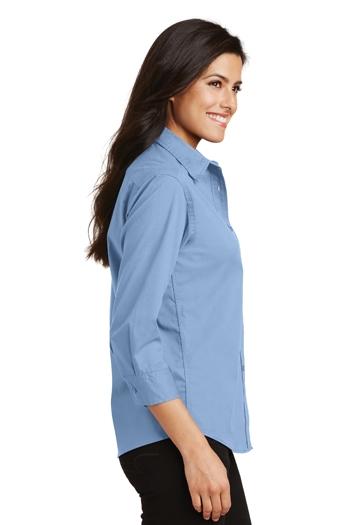 Port Shirt 34 Ladies Care Easy Authority L612 Sleeve HrHBgFq