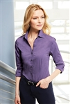 Port Authority - Ladies Crosshatch Easy Care Shirt. L640