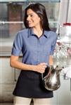 "Port Authority - Ladies Short Sleeve SuperProâ""¢ Oxford Shirt. L659"