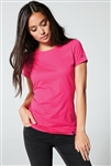New Era® Ladies Heritage Blend Crew Tee. LNEA100