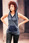 New Era® Ladies Heritage Blend Hoodie Tank. LNEA106