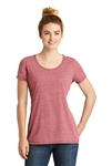 New Era® Ladies Tri-Blend Performance Scoop Tee. LNEA130