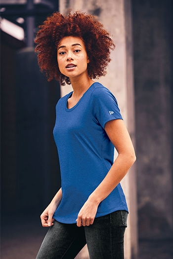 New Era® Ladies Series Performance Scoop Tee. LNEA200