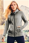 New Era® Ladies Tri-Blend Fleece Full-Zip Hoodie. SAN-LNEA511