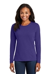 Port & Company - Ladies Long Sleeve Core Cotton Tee. LPC54LS