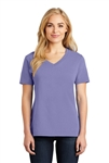 Port & Company - Core Cotton V-Neck Tee. LPC54V