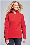 Sport-Tek - Ladies 1/4-Zip Sweatshirt. LST253