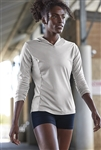 Sport-Tek - Ladies PosiCharge ® Competitor ™ Hooded Pullover.  LST358