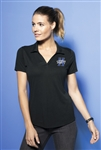 Sport-Tek - Ladies PosiCharge ® Tri-Blend Wicking Polo. LST405