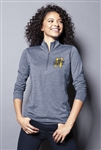 Sport-Tek - Ladies PosiCharge ® Tri-Blend Wicking 1/4-Zip Pullover. LST407