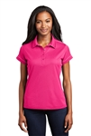Sport-Tek - Ladies Contrast Stitch Micropique Sport-Wick Polo. LST659