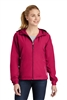 Sport-Tek - Ladies Colorblock Hooded Jacket. LST76