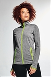 Sport-Tek - Ladies Sport-Wick® Stretch Contrast Full-Zip Jacket. LST853