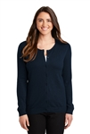 Port Authority - Ladies Cardigan. LSW287