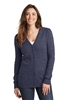 Port Authority® Ladies Marled Cardigan Sweater. LSW415