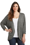Port Authority- Ladies Marled Caccoon Sweater. LSW416
