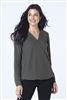 Port Authority - Ladies Wrap Blouse. LW702