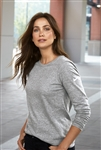 Nike - Ladies Core Cotton Long Sleeve Scoop Neck Tee. NKBQ5235
