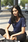 Nike - Ladies Core Cotton Scoop Neck Tee. NKBQ5236