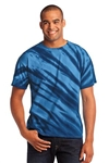 Port & Company - Essential Tiger Stripe Tie-Dye Tee. PC148