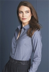 Red House - Ladies Nailhead Non-Iron Shirt. RH470