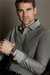 Red House - Slim Fit Non-Iron Pinpoint Oxford. RH620