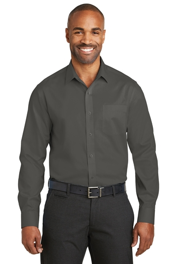 Red House - Slim Fit Non-Iron Twill Shirt. RH80