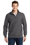 Sport-Tek - Super Heavyweight 1/4-Zip Pullover Sweatshirt. ST283