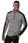 Sport-Tek - PosiCharge® Electric Heather Colorblock 1/4-Zip Pullover. ST397