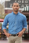 Port Authority - Tall Long Sleeve Denim Shirt. TLS600