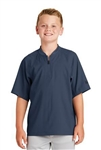 New Era® Youth Cage Short Sleeve 1/4-Zip Jacket. YNEA600