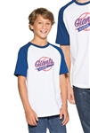 Sport-Tek - Youth Short Sleeve Colorblock Raglan Jersey. YT201