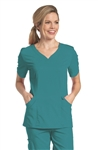"Urbane - ""Chloe"" Sweetheart Neck Women's Scrub Tunic. 9550"