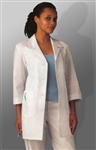"White Swan META - Women's 3/4 Sleeve 33"" Lab Coat. 15012"