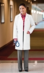 "White Swan META - Fundamentals Women's 37"" Lab Coat. 15113"