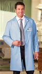 "White Swan META - 40"" Unisex Light Blue Lab Coat. 6116"