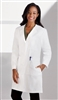 "White Swan META - Women's 38"" Knot Button iPad Lab Coat. 763"