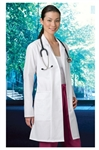"White Swan META - Women's 36"" Embroidered Lab Coat. 767"